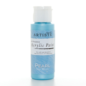 Artiste 2 oz SPECIALITY PEARLESCENT PAINT - PEARL ICE BLUE