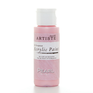 Artiste 2 oz SPECIALITY PEARLESCENT PAINT - PEARL BLUSH