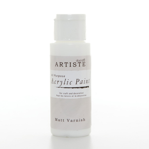 Artiste 2 oz SPECIALITY MEDIUM - MATT VARNISH