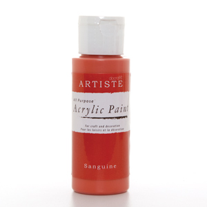 Artiste 2 oz ACRYLIC PAINT - SANGUINE
