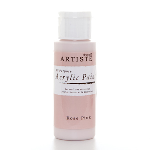 Artiste 2 oz ACRYLIC PAINT - ROSE PINK