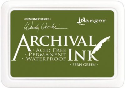 Ranger Wendy Vecchi Designer Series Archival Ink Pad - Fern Green