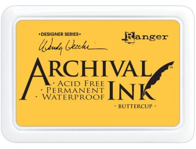 Ranger Wendy Vecchi Designer Series Archival Ink Pad - Buttercup