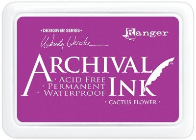 Ranger Archival Ink Pad - Cactus Flower
