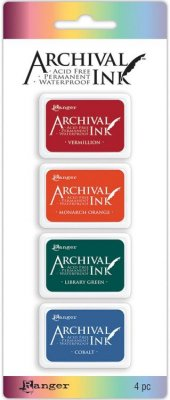 Ranger Mini Archival Ink Pads - Set #1