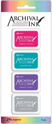 Ranger Mini Archival Ink Pads - Set #4