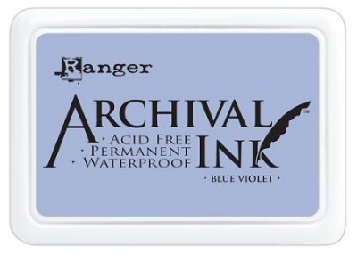 Ranger Archival Ink Pad - Blue Violet