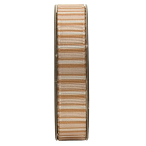 1.5m RIBBON - STRIPES - GOLD