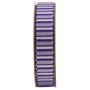 Anitas 1.5m RIBBON - STRIPES - PURPLE