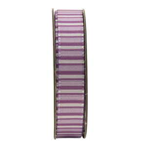 ANITAS - 1.5m RIBBON - STRIPES - LILAC