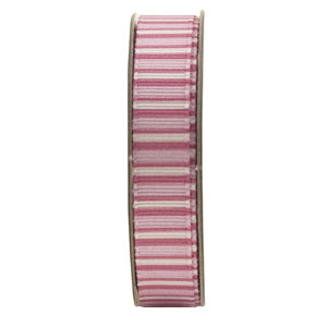 Anitas 1.5m RIBBON - STRIPES - PINK