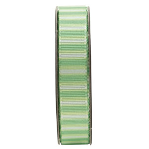 ANITAS - 1.5m RIBBON - STRIPES - GREEN