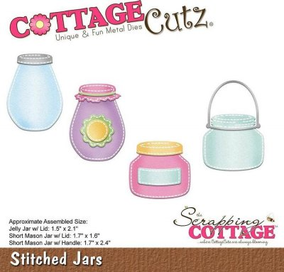 CottageCutz Dies - Stitched Jars
