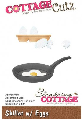 CottageCutz Dies - Skillet with Eggs
