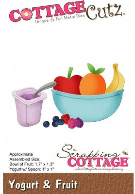 CottageCutz Dies - Yogurt & Fruit