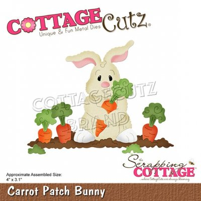 CottageCutz Dies - Carrot Patch Bunny