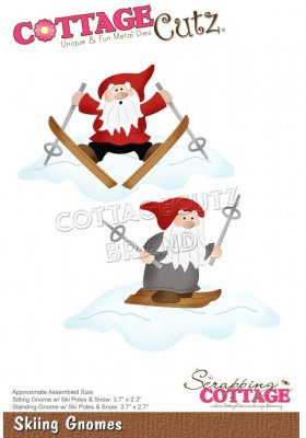 CottageCutz Dies - Skiing Gnomes