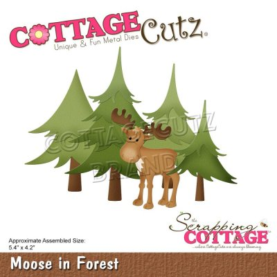 CottageCutz Dies - Moose In Forest