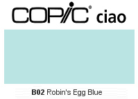 B02 Robins Egg Blue - Copic Ciao Marker