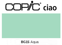 BG15 Aqua - Copic Ciao Marker