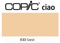 E33 Sand - Copic Ciao Marker
