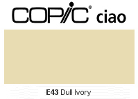 E43 Dull Ivory - Copic Ciao Marker
