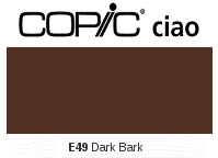 E49 Dark Bark - Copic Ciao Marker