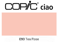 E93 Tea Rose - Copic Ciao Marker