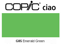 G05 Emerald Green - Copic Ciao Marker