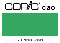 G17 Forest Green - Copic Ciao Marker