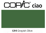 G94 Grayish Olive - Copic Ciao Marker