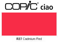 R27 Cadmium Red - Copic Ciao Marker
