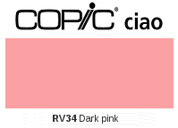 RV34 Dark Pink - Copic Ciao Marker