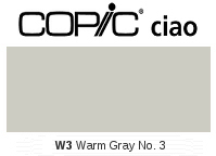 W3 Warm Gray No. 3 - Copic Ciao Marker