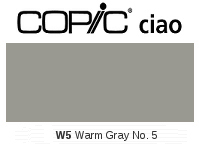 W5 Warm Gray No. 5 - Copic Ciao Marker
