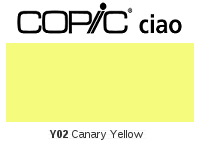 Y02 Canary Yellow - Copic Ciao Marker