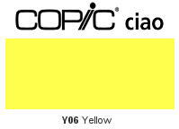 Y06 Yellow - Copic Ciao Marker