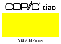 Y08 Acid Yellow - Copic Ciao Marker