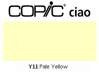 Y11 Pale Yellow - Copic Ciao Marker