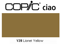 Y28 Lionet Gold - Copic Ciao Marker