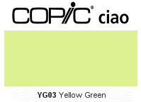 YG03 Yellow Green - Copic Ciao Marker