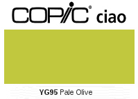 YG95 Pale Olive - Copic Ciao Marker