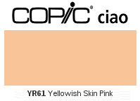 YR61 Yellowish Skin Pink - Copic Ciao Marker