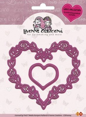 Yvonne Creations Dies - Love Hearts
