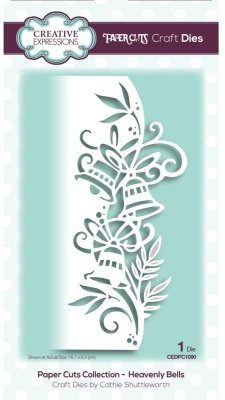 Creative Expressions Paper Cuts Craft Dies - Heavenly Bells