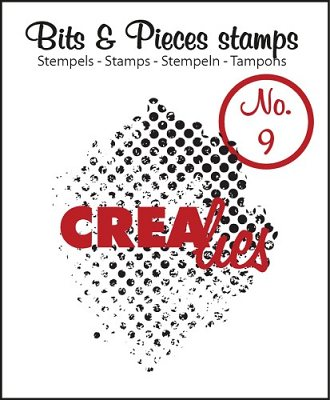 Crealies Clearstamp Bits&Pieces no. 09 Grunge Dots