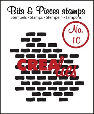 Crealies Clearstamp Bits&Pieces no. 10 Stones