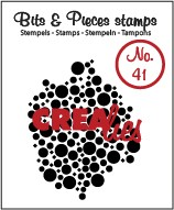 Crealies Clearstamp Bits&Pieces no. 41