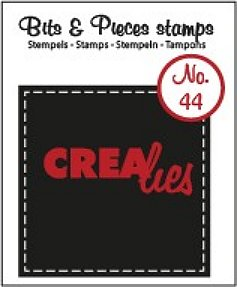 Crealies Clearstamp Bits&Pieces no. 44