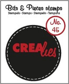Crealies Clearstamp Bits&Pieces no. 45